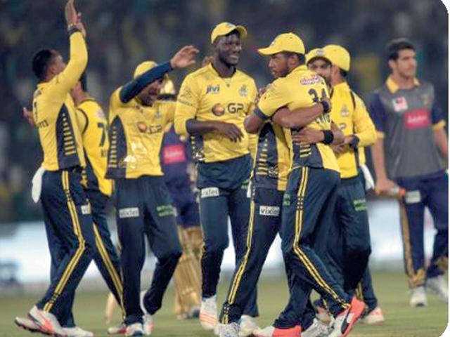لاہورمیں پہلے پلے آف میں پشاورزلمی فتح یاب
