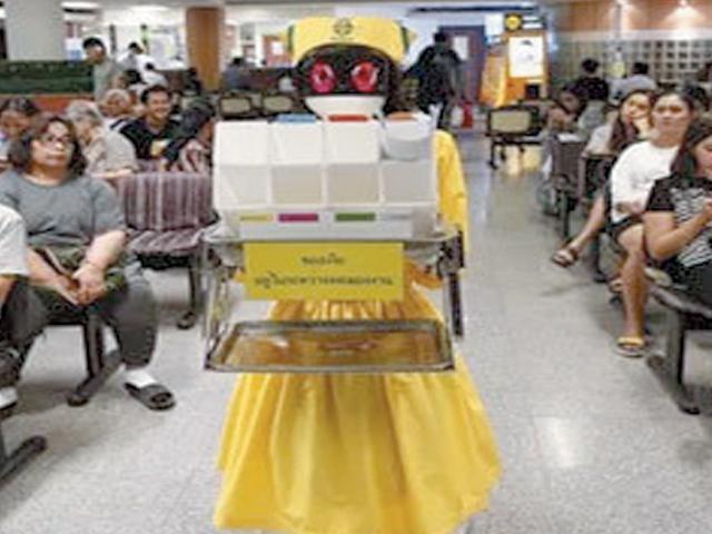 روبوٹ نرسیں متعارف