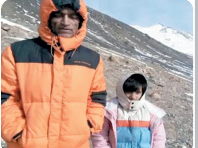 ایبٹ آباد کی نو سالہ سلینہ کوہ پیما بن گئی،عالمی ریکارڈ قائم کردیا