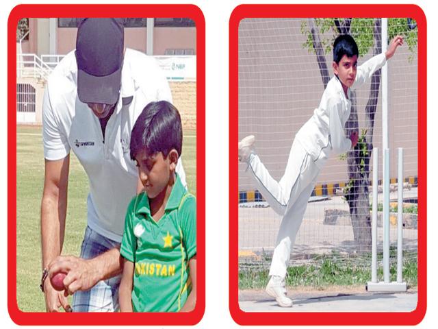 پاکستانی ننھے کرکٹر دنیا بھر میں مشہور