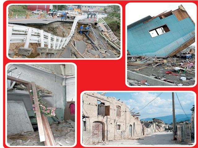 زلزلے اقسام، وجوہات اور حفاظتی تدابیر