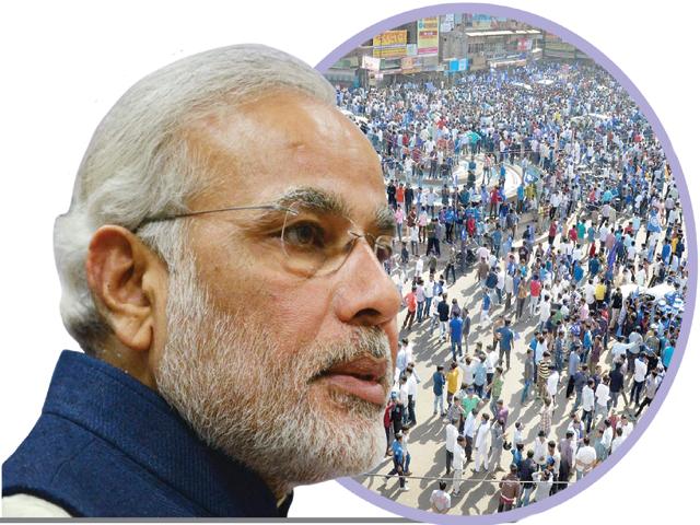 بھارت بھر میں دلتوں کے مظاہرے