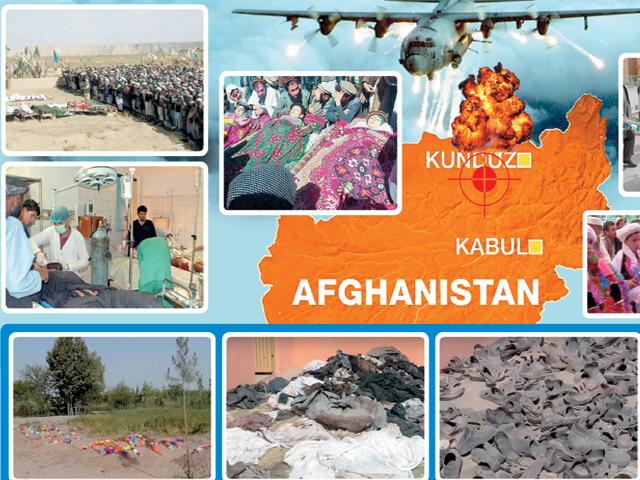 قندوزمیں افغان فورسزکی اپنے ہی شہریوں کے خون سے ہولی
