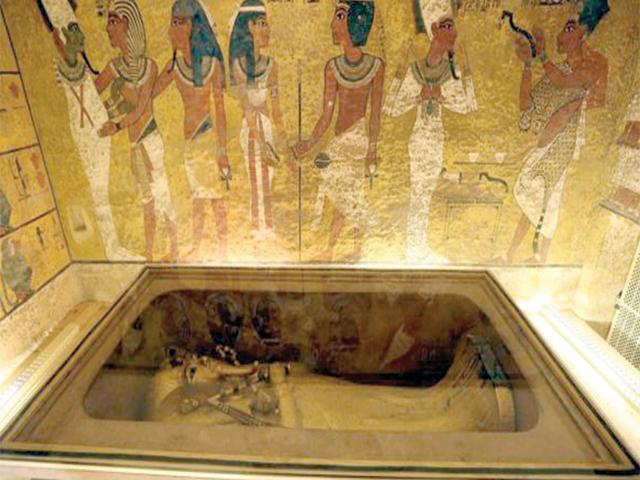 مقبرہ فرعون،آج بھی سیاحوں کی دلچسپی کامرکز