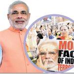 بھارتی وزیر اعظم کا دنیا بھر میں قاتل مودی کے نعروں سے استقبال