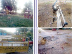 سکھرکی تفریح گاہ بچل شاہ میانی عسکری پارک
