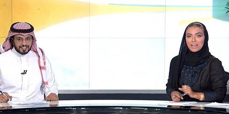 سعودی عرب کی تاریخ میں پہلی بار سرکاری ٹی وی پر خاتون نیوز کاسٹر متعارف
