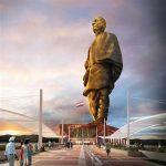 نئی دہلی ، دنیا کے بلند ترین مجسمے کی نقاب کشائی