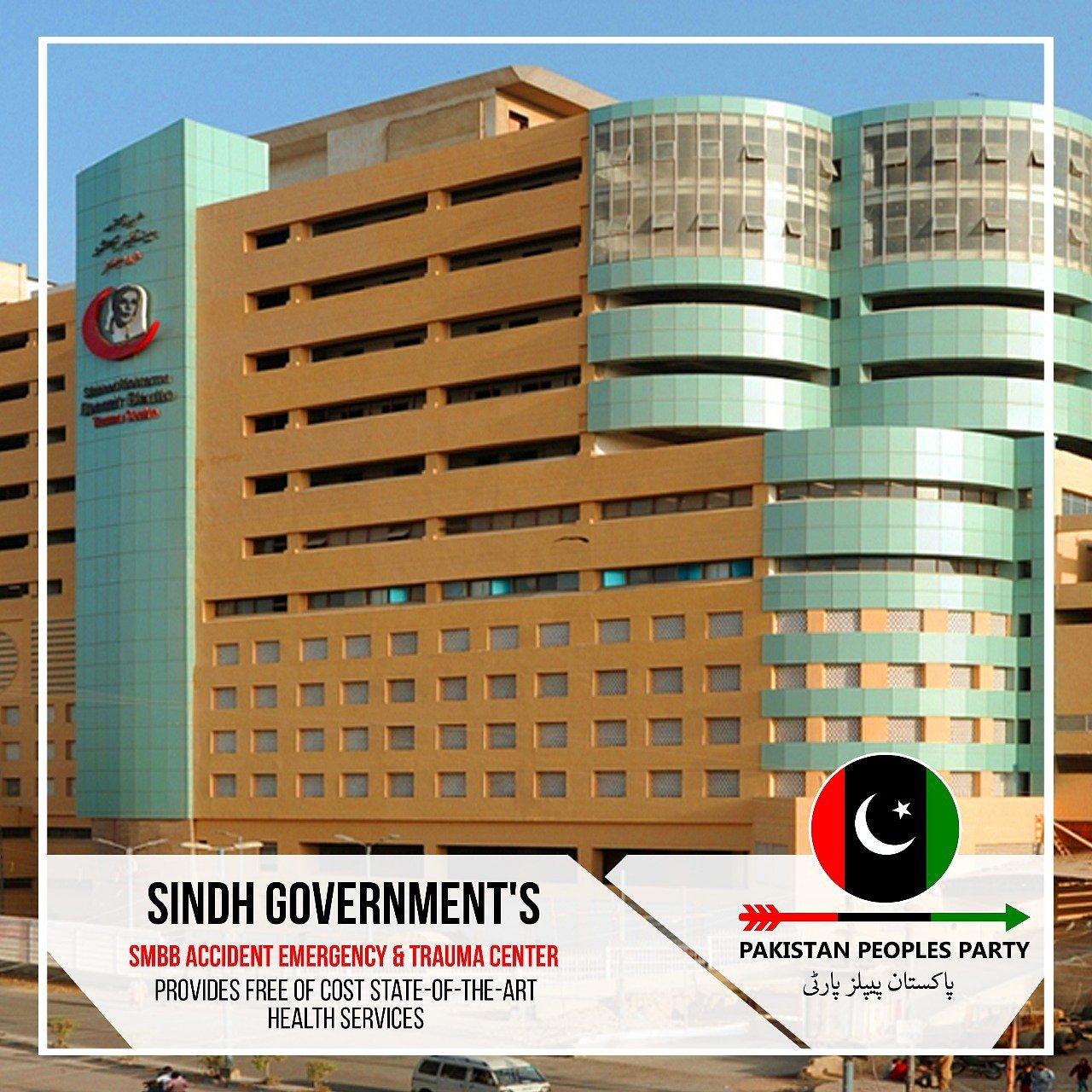صوبہ سندھ کا سب سے بڑا طبی منصوبہ اب تک مکمل فعال نہ ہوسکا