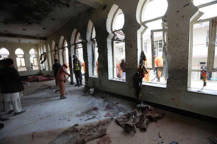 کابل، مذہبی اجتماع میں خودکش دھماکا، 50افراد جاں بحق