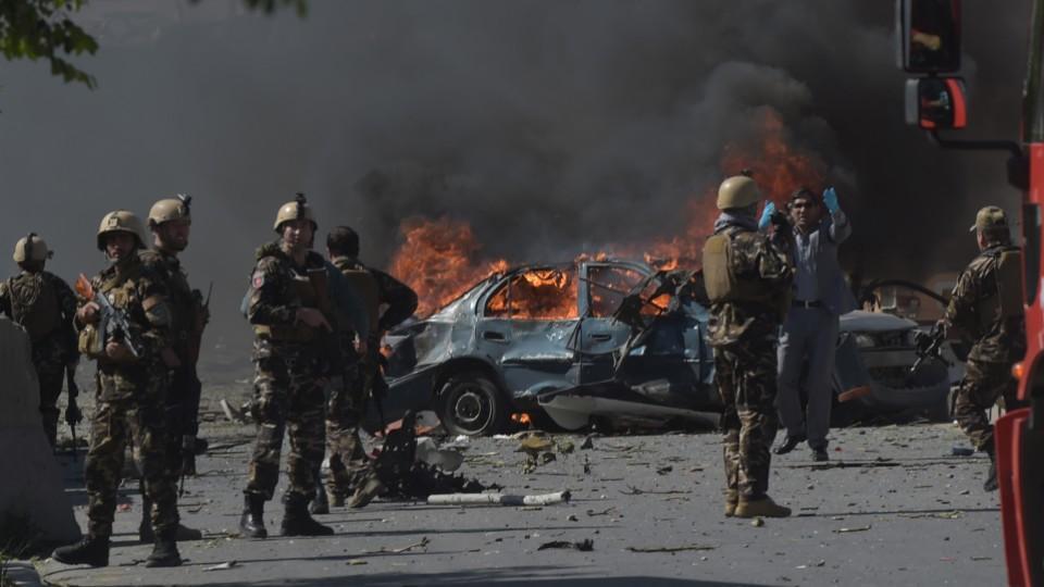 کابل میں برطانوی سیکورٹی کمپنی پر حملہ، 10 افراد ہلاک