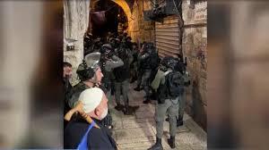 اسرائیلی پولیس نے مسجد اقصی کے محافظ کو حراست میں لے لیا