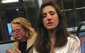 لندن کی بس میں ہم جنس پرست خواتین کو مار مار لہولہان کردیا گیا