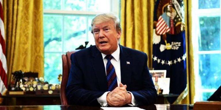 ایرانی حکام سے ملاقات کا ارادہ نہ ایسا کچھ طے ہوا ، امریکی صدر