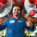امارات کا پہلا خلانورد بین الاقوامی خلائی اسٹیشن کیلئے روانہ