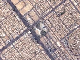 مصنوعی سیارے سے لی گئی سعودی کنگڈم ٹاور کی تصویر وائرل