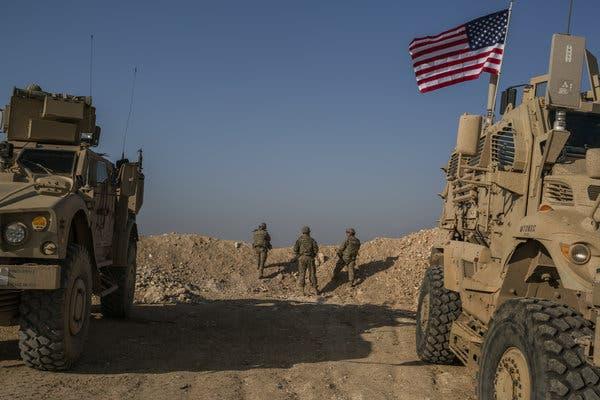 شمالی شام سے اپنے 1 ہزار فوجی واپس بلا رہے ہیں ، امریکی وزیردفاع