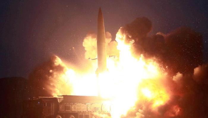 شمالی کوریا کا ایک اور بیلسٹک میزائل کا تجربہ