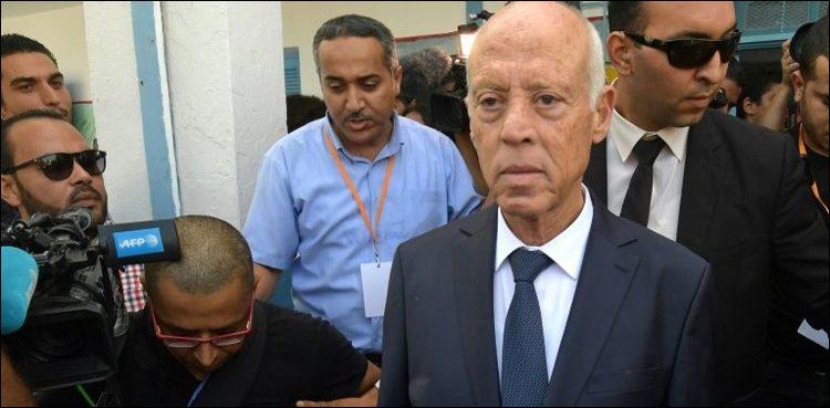 ریٹائرڈ پروفیسر قیس سعید بھاری ووٹوں سے تیونس کے نئے صدر منتخب