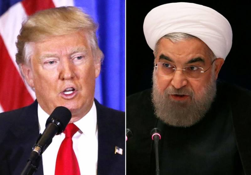 ایرانی صدر کے ساتھ ملاقات سے میں نے خود انکار کیا،ٹرمپ