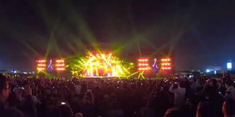 محفل موسیقی ،سعودی عرب میں پاکستانی اور بھارتی اکٹھے ہوگئے