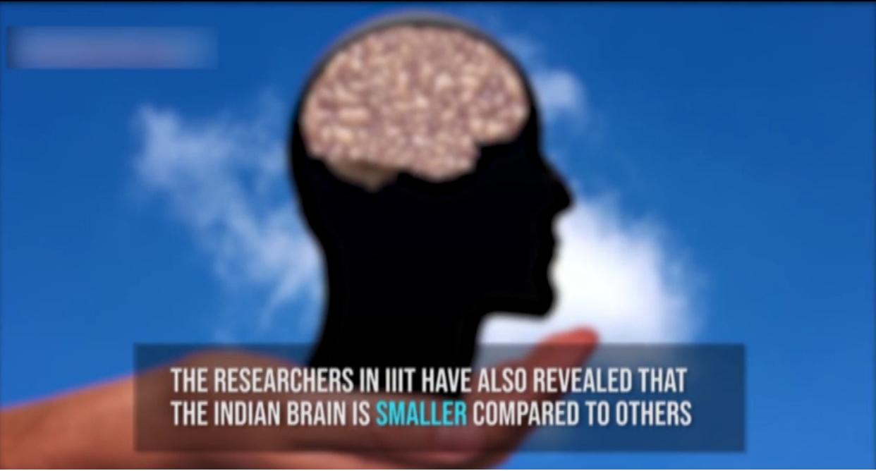 بھارتی دنیا میں سب سے چھوٹے دماغ رکھتے ہیں، تحقیق