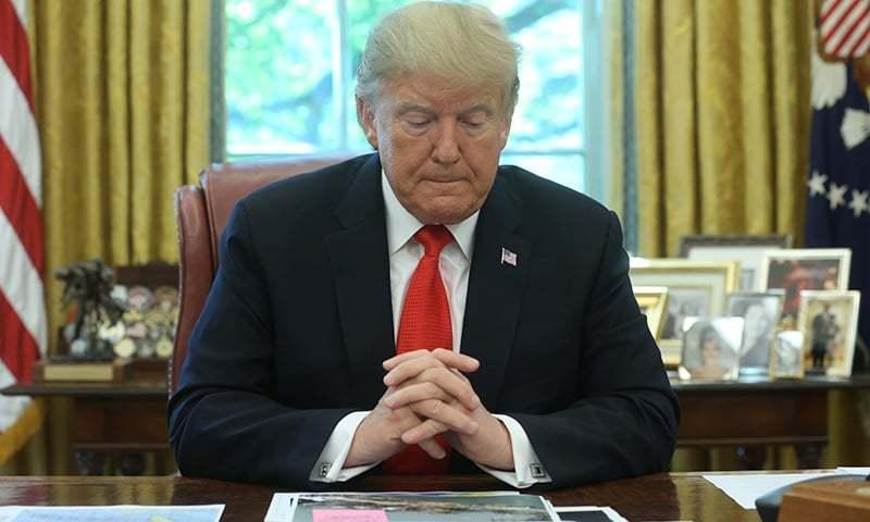 مواخذے کی کارروائی، صدر ٹرمپ کے خلاف ایک اور گواہی ریکارڈ