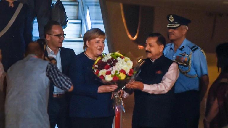جرمن چانسلر کا دورہ بھارت، خارجہ پالیسی اور سلامتی سے متعلق امور پرتبادلہ خیال