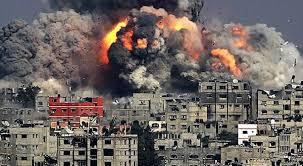 اسرائیلی بمباری سے غزہ میں نصف ملین ڈالر کا نقصان
