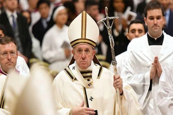 دنیا کے مسائل کو بہانے کے طور پر استعمال نہیں کرنا چاہئے ، پوپ فرانسس