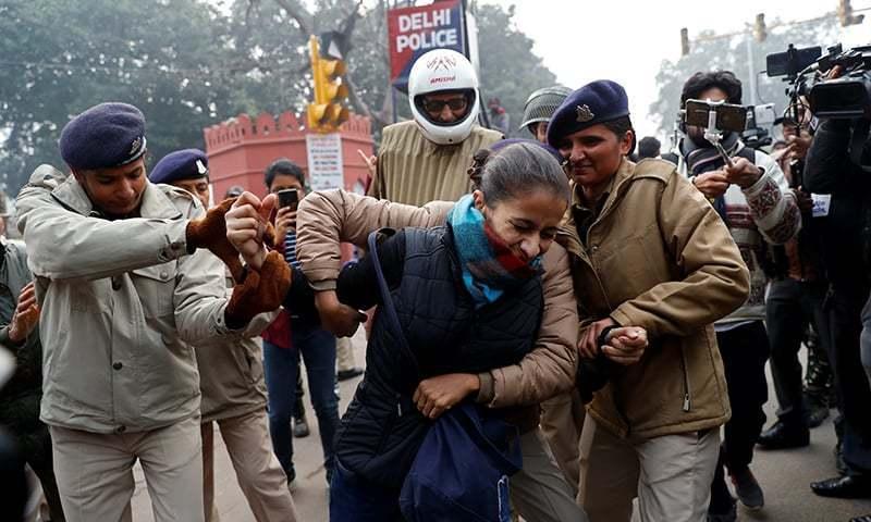 بھارت، متنازع شہریت قانون کیخلاف 100 تنظیموں کا مشترکہ مظاہروں کا اعلان