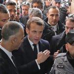 فرانسیسی صدر چرچ کے باہر اسرائیلی اہلکاروں کو دیکھ کر برہم