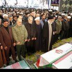 جنرل قاسم سلیمانی اور ساتھیوں کی نماز جنازہ تہران میں ادا کردی گئی