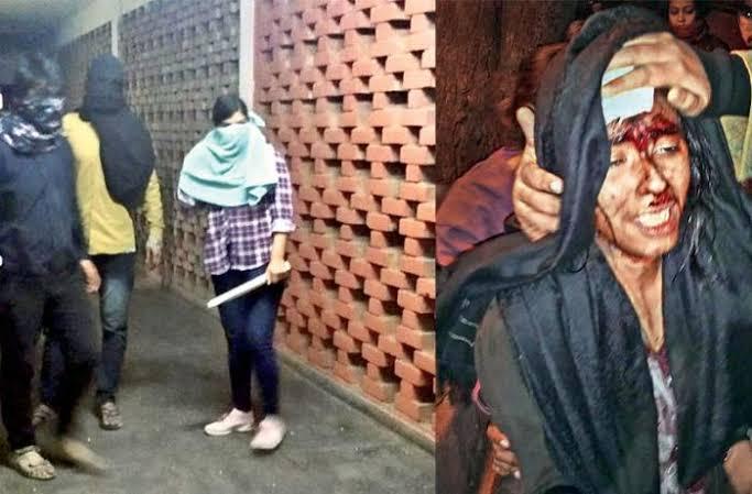 نئی دہلی ، ہندؤں کے ہاتھوں تشدد کے شکار طلبا پر ہی مقدمہ
