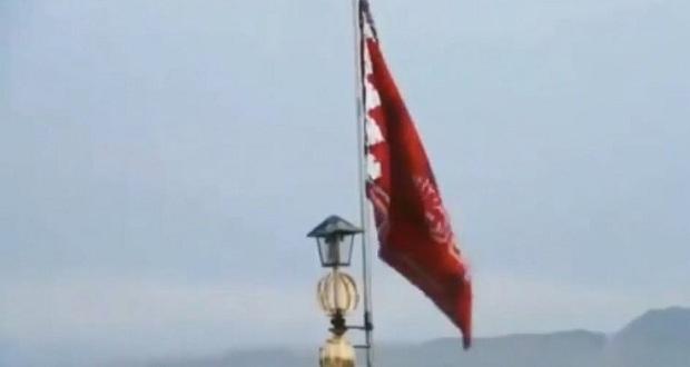 ایران نے جنرل سلیمانی کے قتل کابدلہ لینے کیلئے سرخ جھنڈا لہرادیا