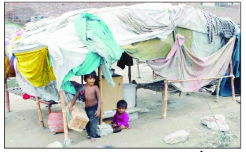 پاکستان میں 60لاکھ سے زائد خانہ بدوش رہائش پزیر