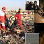 مغربی میڈیا نے ایران میں تباہ یوکرینی طیارے کی فوٹیج جاری کردی