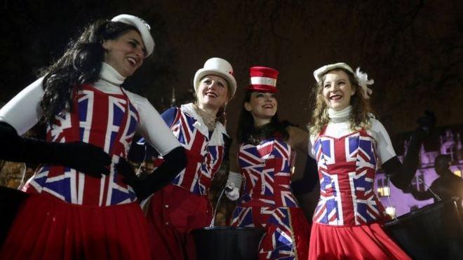 برطانیا 47 سال بعد یورپی یونین سے علیحدہ، ملک بھر میں جشن