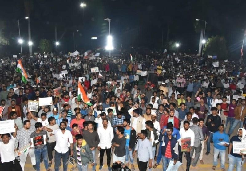 بھارت میں شہریت ترمیمی ایکٹ کے خلاف احتجاجی مظاہرے جاری