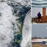 برطانیا میںسمندری طوفان، 200 پروازیں منسوخ