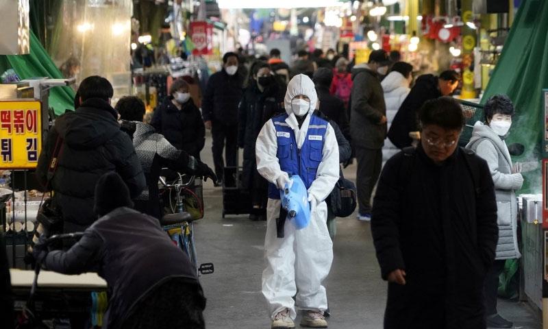 192ممالک کورونا وائرس کی زد میں ، ہلاکتوں کی تعداد 14 ہزار 686 ہو گئی