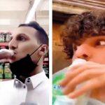سعودی عرب، سینی ٹائزر پینے کی ترغیب دینے والے 2 افراد گرفتار