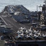 طیارہ بردار امریکی بحری بیڑے پر کورونا کی وبا تیزی سے پھیلنے لگی