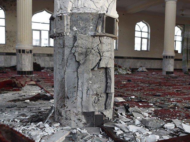 افغانستان میں مسجد پر حملے میں 7 نمازی جاں بحق اور 12 زخمی
