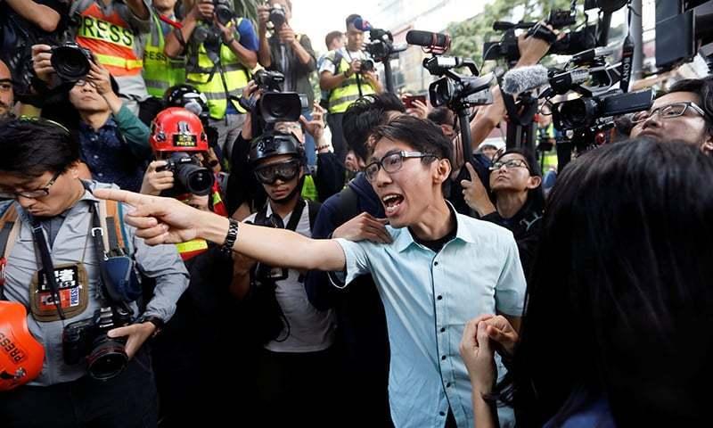 چین کا ہانگ کانگ کیلئے نئے سیکیورٹی قوانین لانے کا منصوبہ