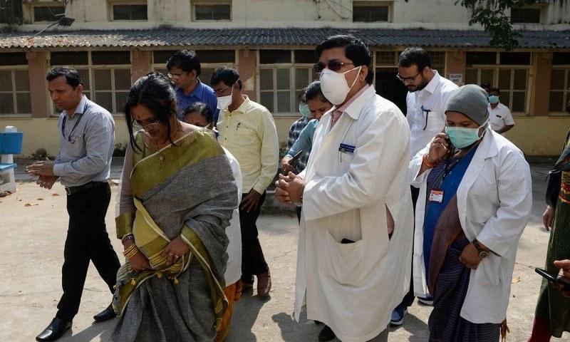 بھارت میں ایک دن میں ریکارڈ 6 ہزارسے زائد کیسز کا اضافہ