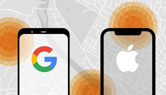گوگل اور ایپل بھی کورونا کے مریضوں کی ٹریکنگ کیلئے پیش پیش