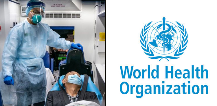 جولائی کے وسط تک پاکستان میں کورونا مریضوں کی تعداد دو لاکھ سے تجاوز کر سکتی ہے ،ڈبلیو ایچ او