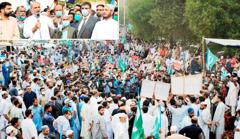 جماعت اسلامی کا کے الیکٹرک کے خلاف وزیراعلیٰ ہاؤس دھرنے پر غور
