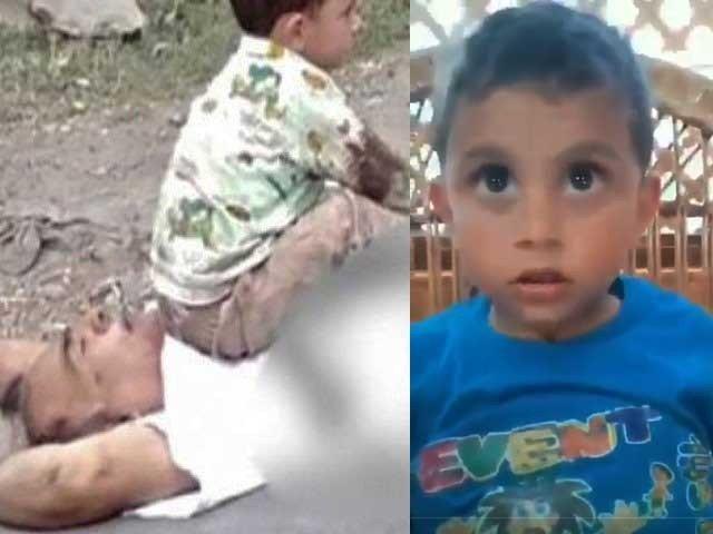 بھارتی فوج نے نانا کو کس طرح گولیاں ماریں؟ ننھے نواسے کی ویڈیو وائرل